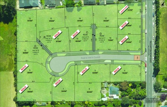 Build Immediately Titles Available - Wakefield Wynd subdivision